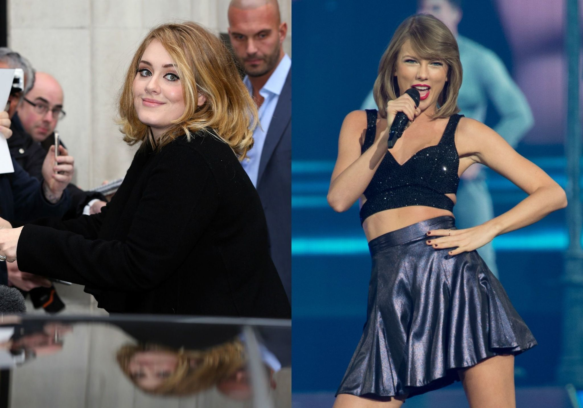 Taylor Swift No Longer Holds This Record, Thanks to Adele