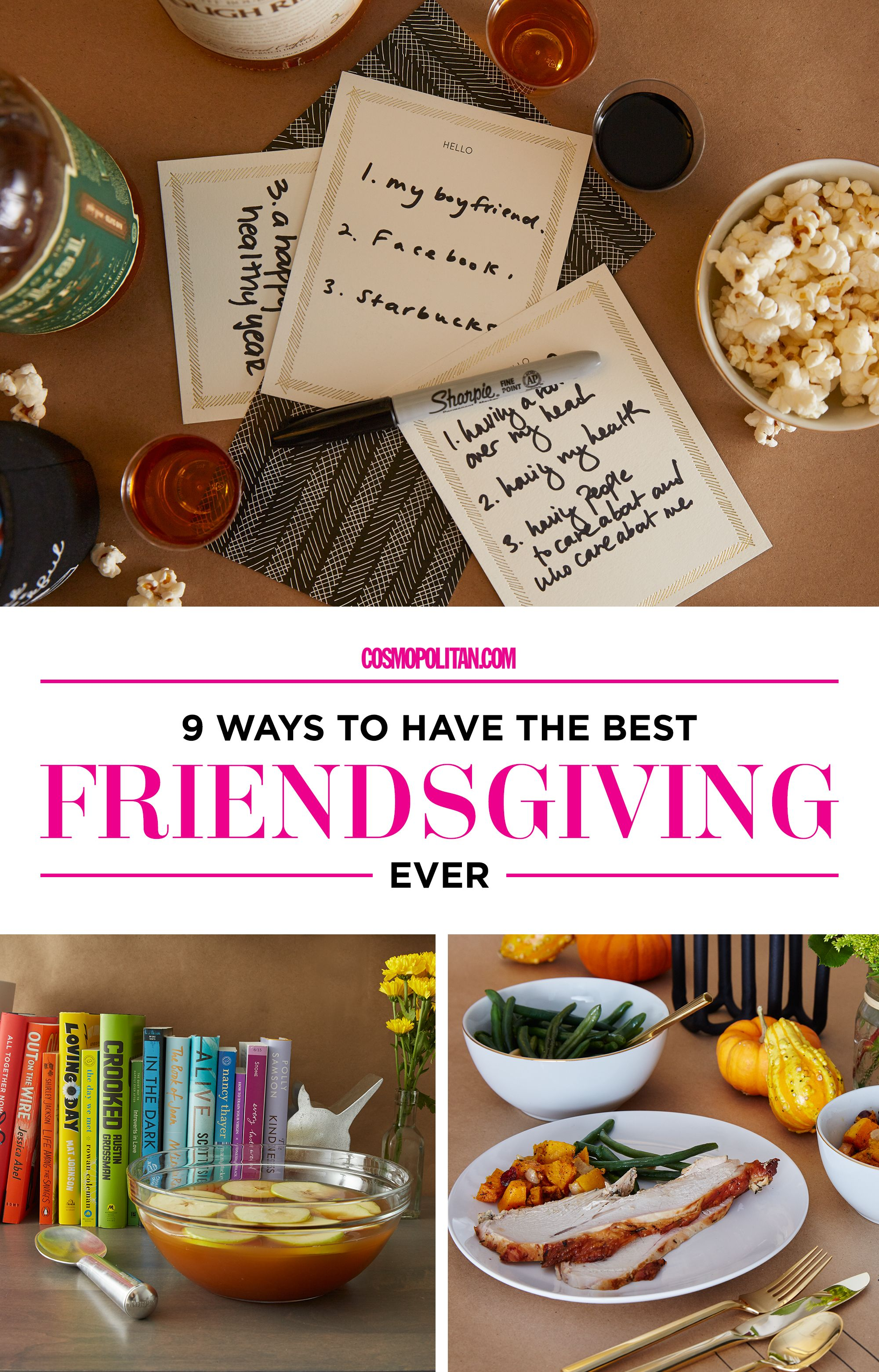 How to do friendsgiving