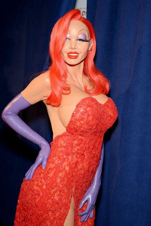 Heidi Klum Also Lip Synced As Jessica Rabbit