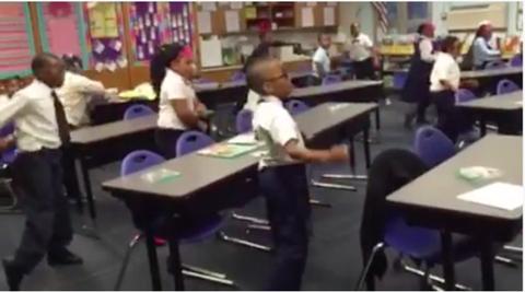 Watch a Genius Teacher Use the Whip/NaeNae to Help Kids Learn