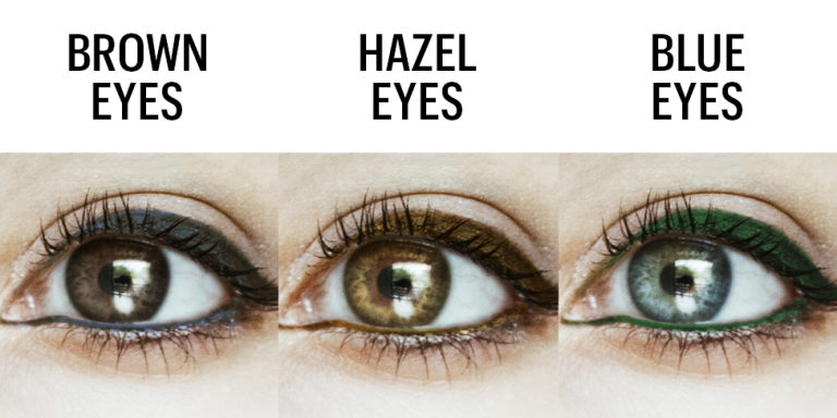 The Exact Eyeliner Color You Need to Make Your Eyes Look Gorgeous