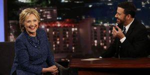 Hillary Clinton on Jimmy Kimmel