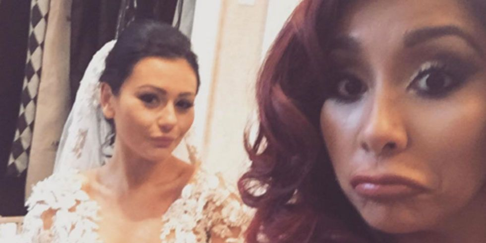 Snooki Admits To Being A Drunk Bridesmaid At JWowws Wedding