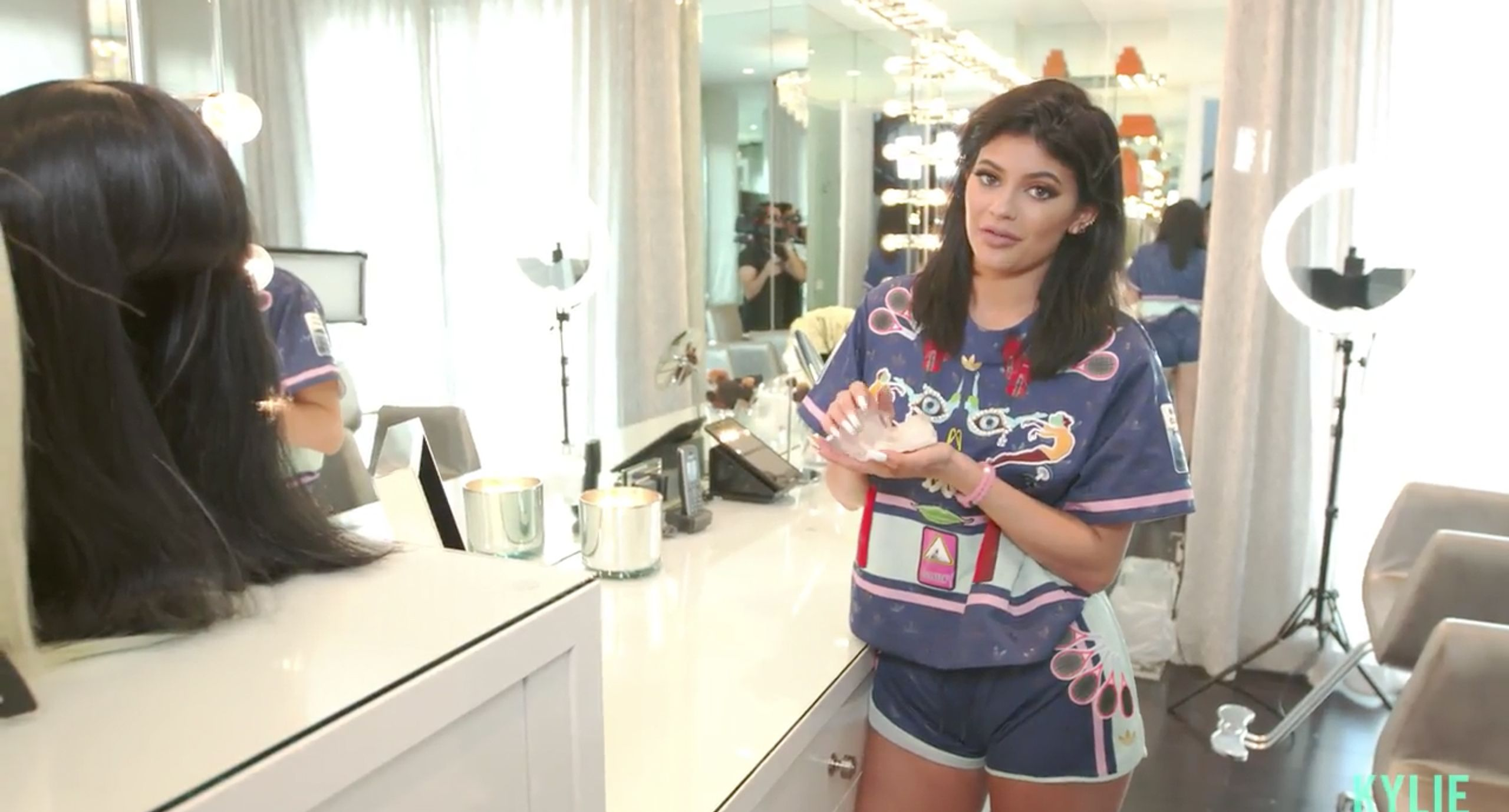 5 of the Kylie-est Reveals From Kylie Jenner\'s Glam Room Tour