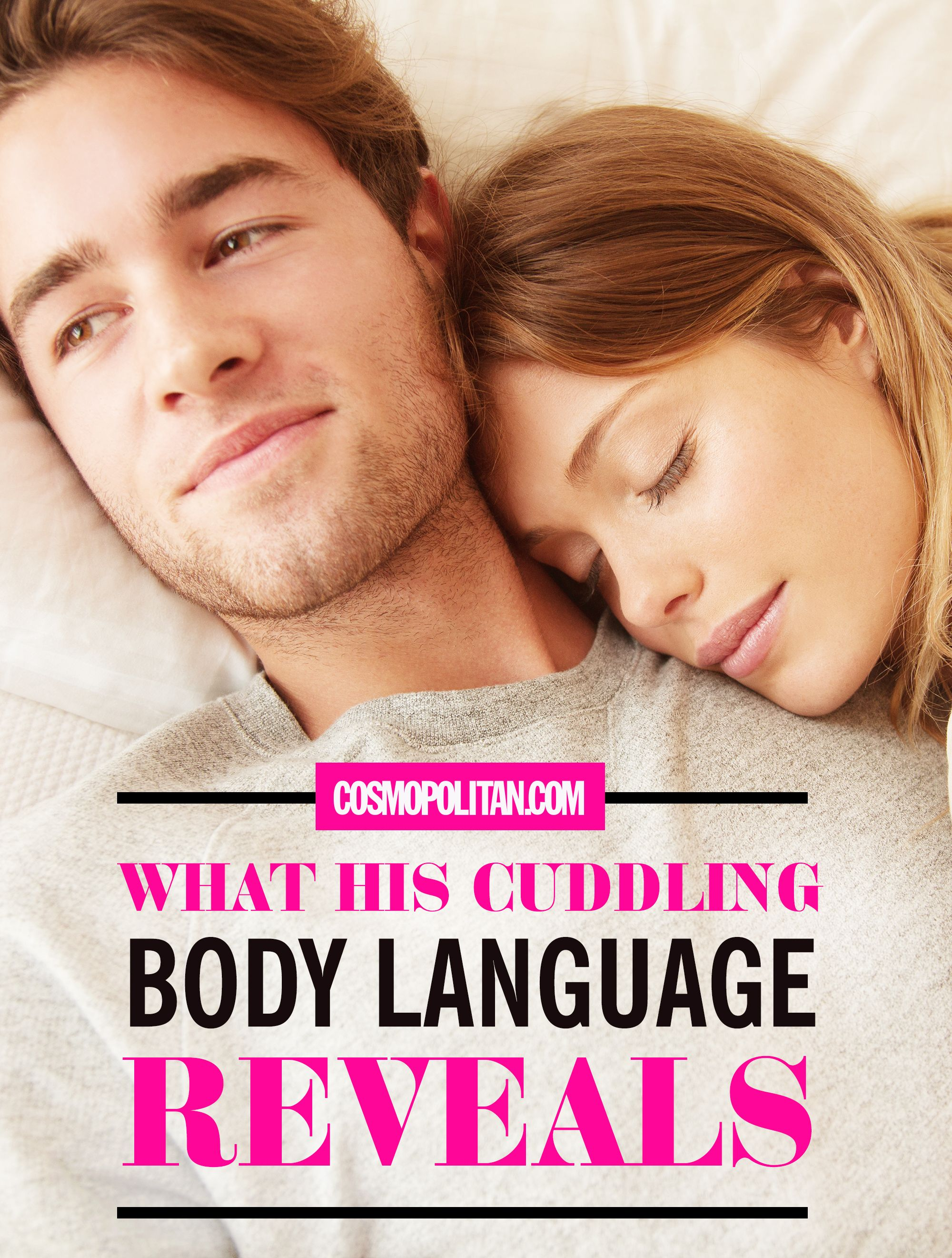 Body Reveals Language Cuddling His What