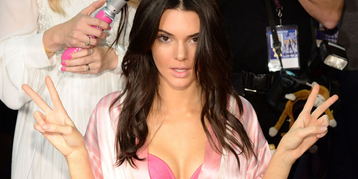Quit horsing around! Kendall Jenner gets animal friendly