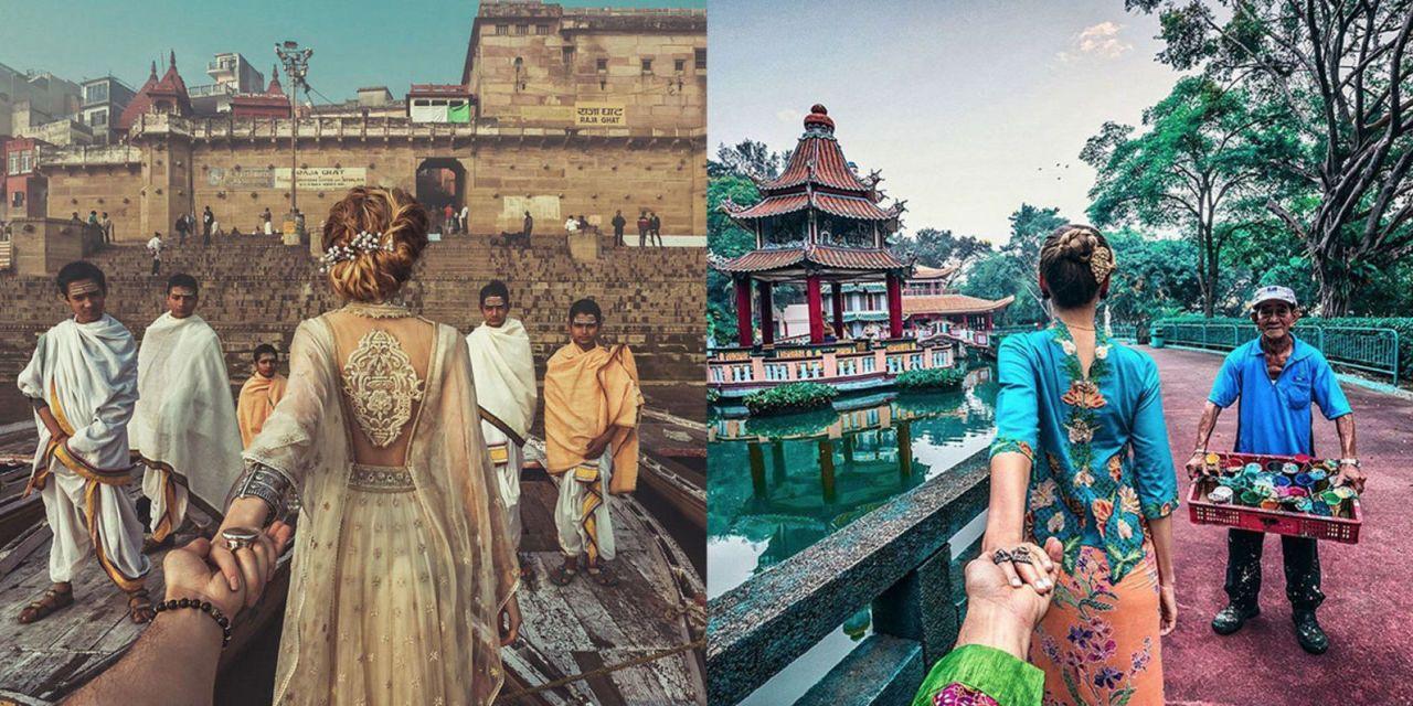 8 Breathtaking New Photos of the #FollowMeTo Couple in India and Singapore