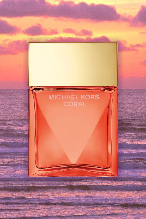 Liquid, Fluid, Perfume, Orange, Atmosphere, Red, Peach, Pink, Amber, Colorfulness,