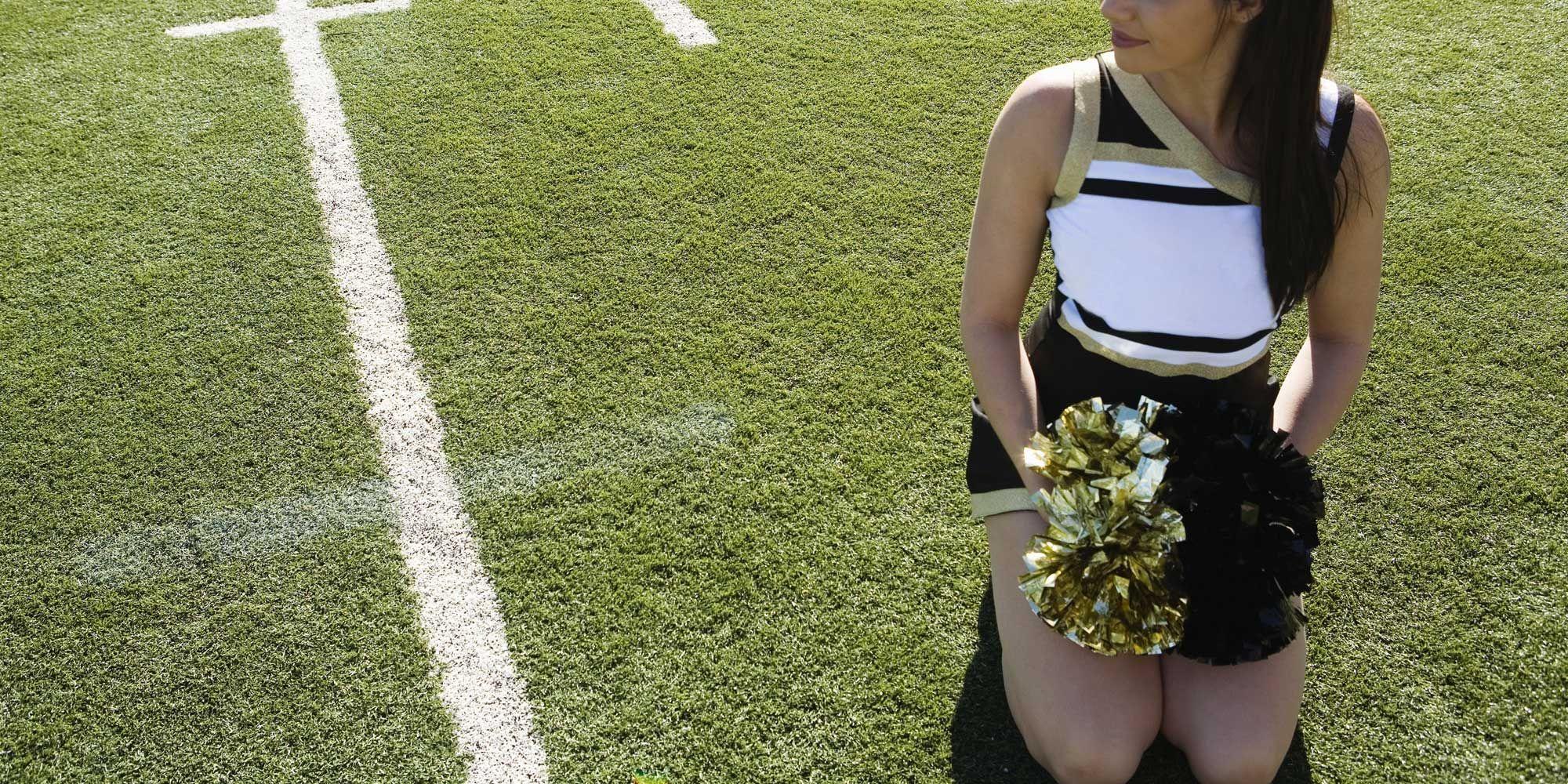 cheerleader ass shot