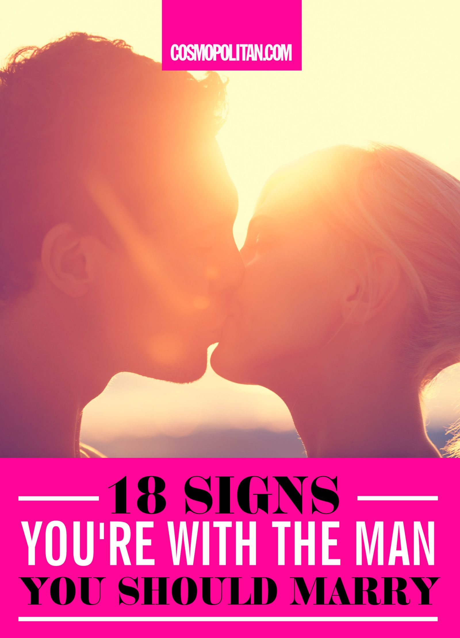 Signs You Re With The Man You Should Marry