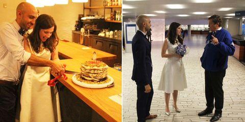 Cake, Cuisine, Trousers, Food, Dessert, Baked goods, Coat, Ingredient, Cake decorating, Dress,