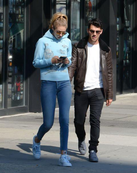 Gigi Hadid and Joe Jonas
