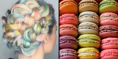 Macaron Hair Is the Most Delightful Rainbow Hair You've Ever Seen