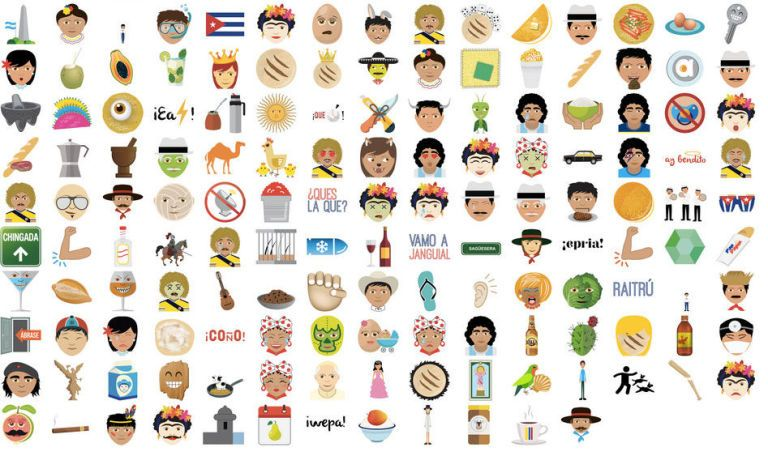 Rejoice, for There Is Now a Latino Emoji App for All Your Texting Needs