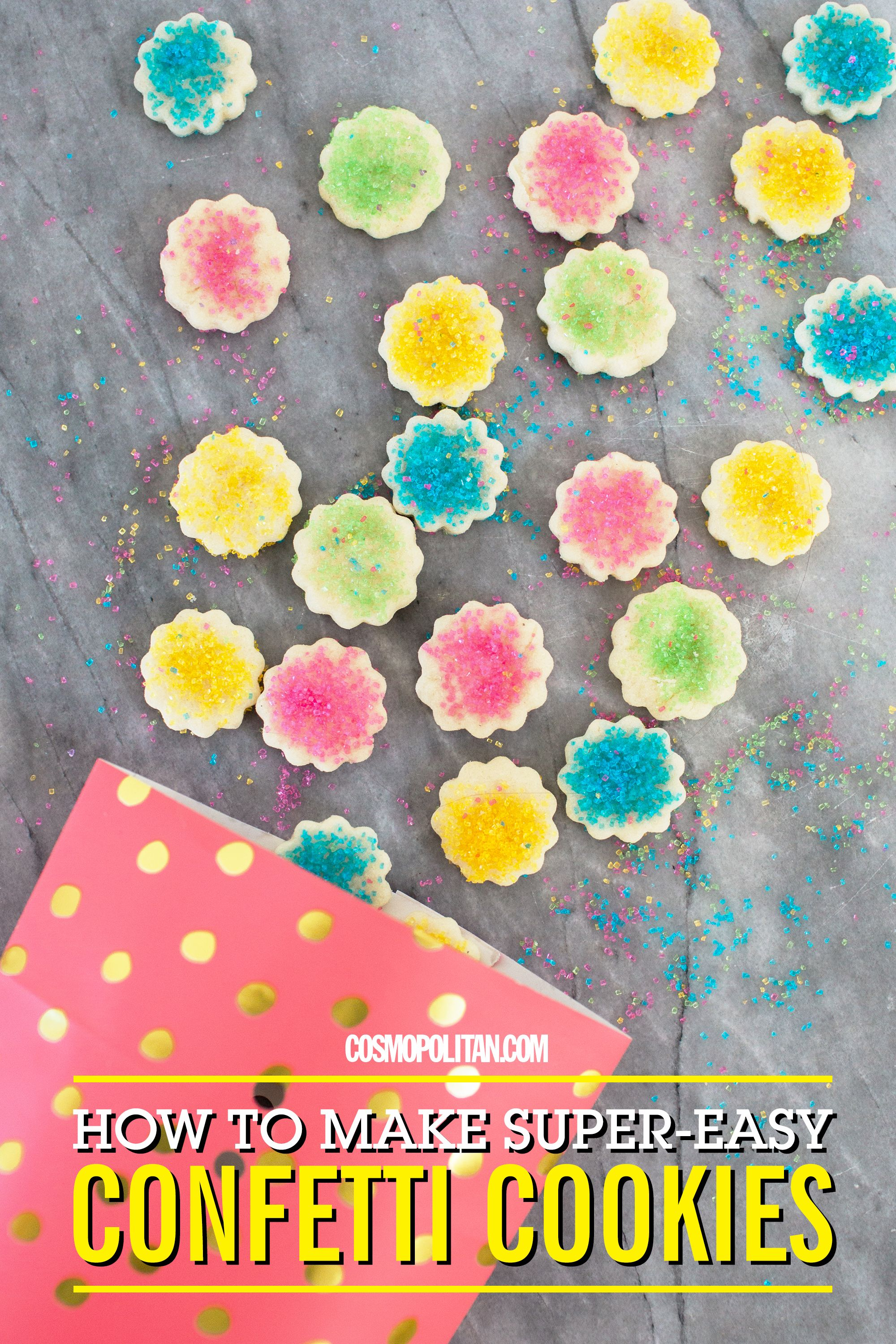 These DIY Confetti Cookies Are So Cute You'll Win the Holidays