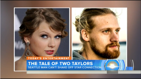 Man Named Taylor Swift Says Sharing a Name With the Famous Pop Singer Is... Difficult