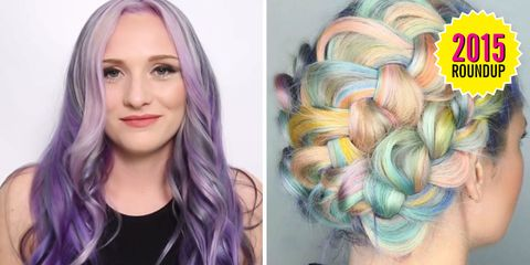 Hair Color Trends of 2015 - Craziest Hair Colors