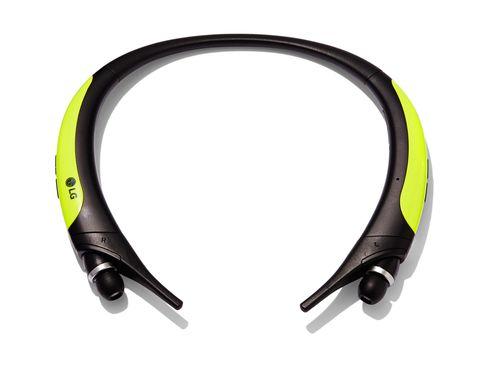 """<p><em> LG Electronics, $129, <a href=""""http://www.lg.com/us/bluetooth-headsets-headphones/lg-HBS-850-Lime-tone-active"""">LG</a></em></p>"""