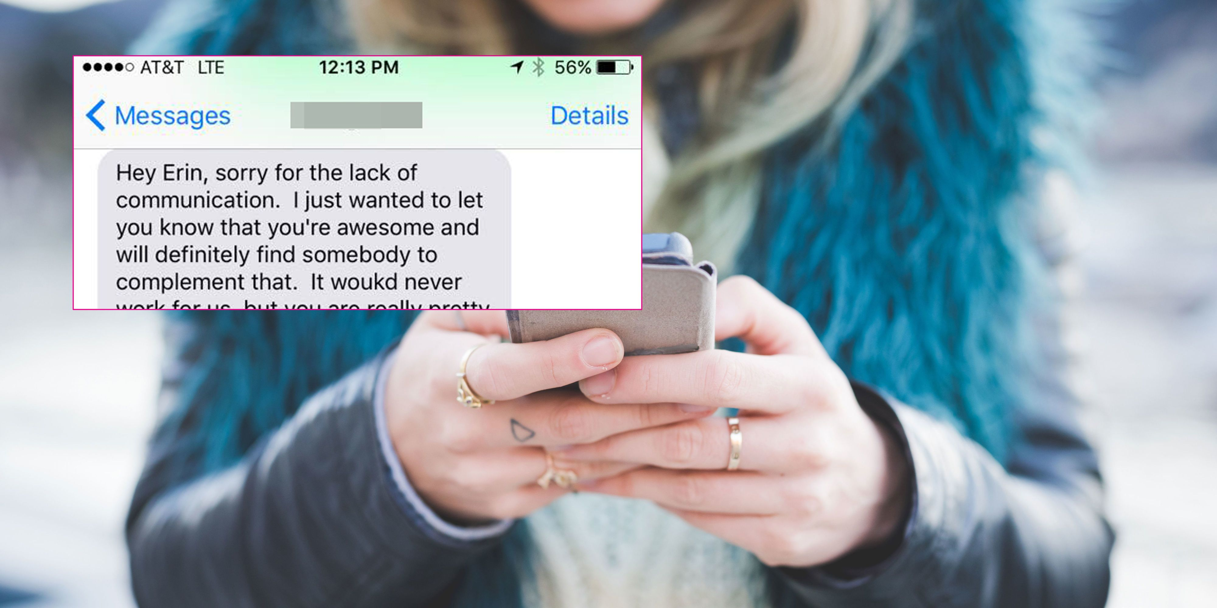Online dating how to handle rejection