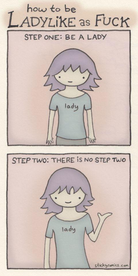 Being Ladylike