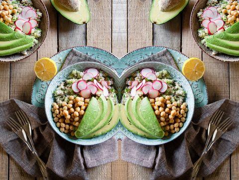 Food, Produce, Cuisine, Tableware, Dishware, Ingredient, Food group, Plate, Natural foods, Serveware,