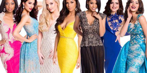 Clothing, Dress, Yellow, Formal wear, Style, Waist, One-piece garment, Fashion model, Beauty, Day dress,