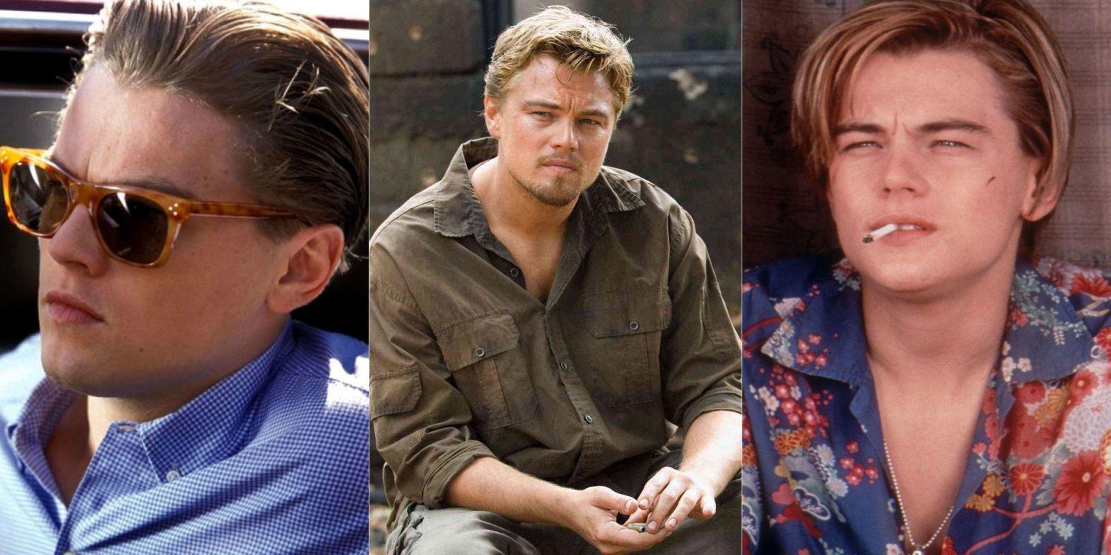 Leonardo DiCaprio gay sexe blonde chatte pouces