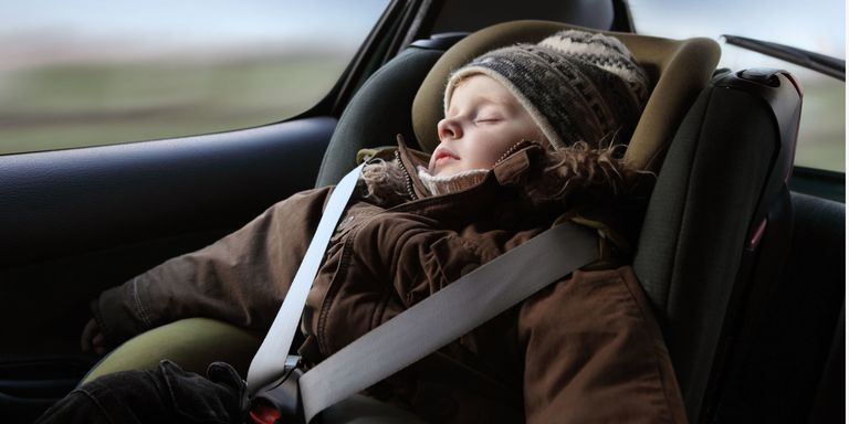Here's Why You Should Always Take Off Your Kids' Coats While They're in the Car