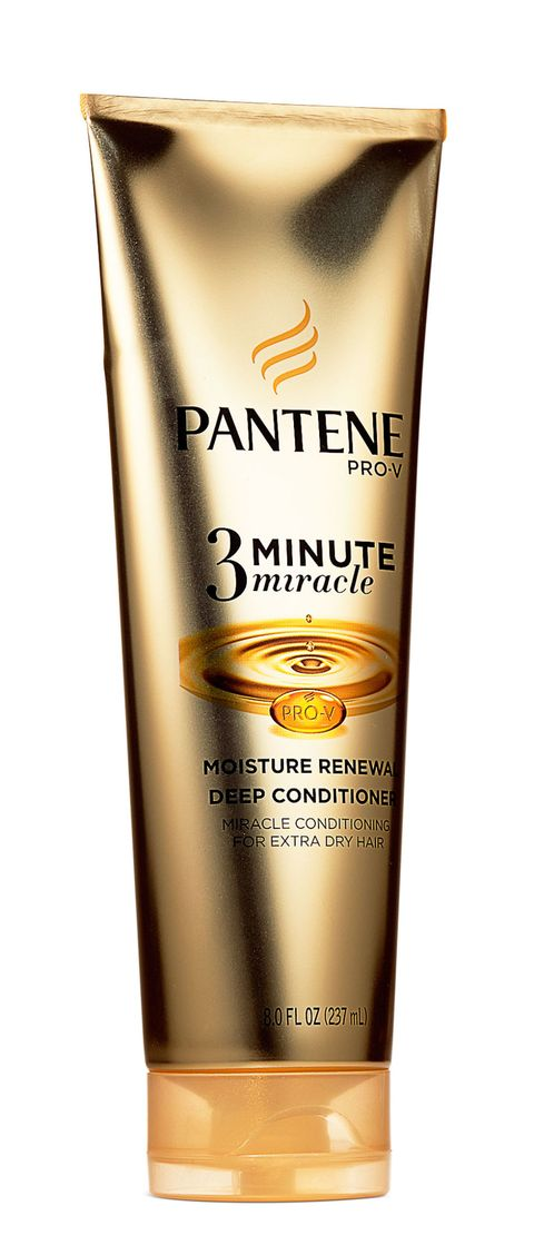 <p>A fast-acting deep conditioner (like <strong>Pantene </strong>Pro-V Daily Moisture Renewal 3 Minute Miracle Deep Conditioner, $5, drugstores) detangles and smooths hair, making post-shower styling a cinch.</p>