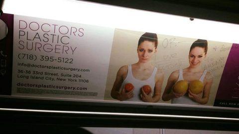 Chest, Advertising, Trunk, Abdomen, Banner, Active tank, Stomach,