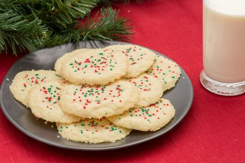 3-Ingredient Sugar Cookies Are the Perfect Treat When There's No Time to Bake