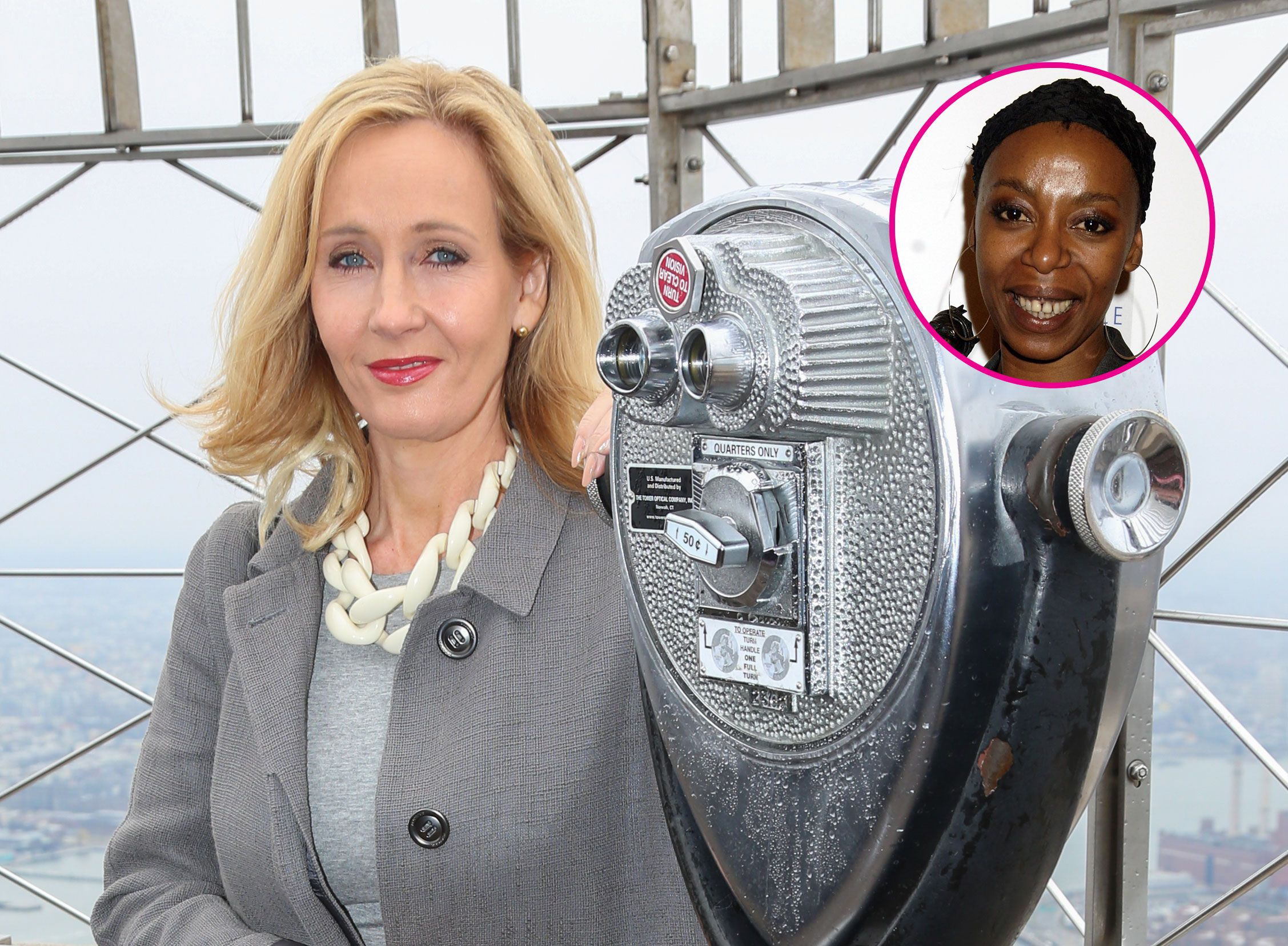 j k rowling shuts down anyone upset about the new hermione