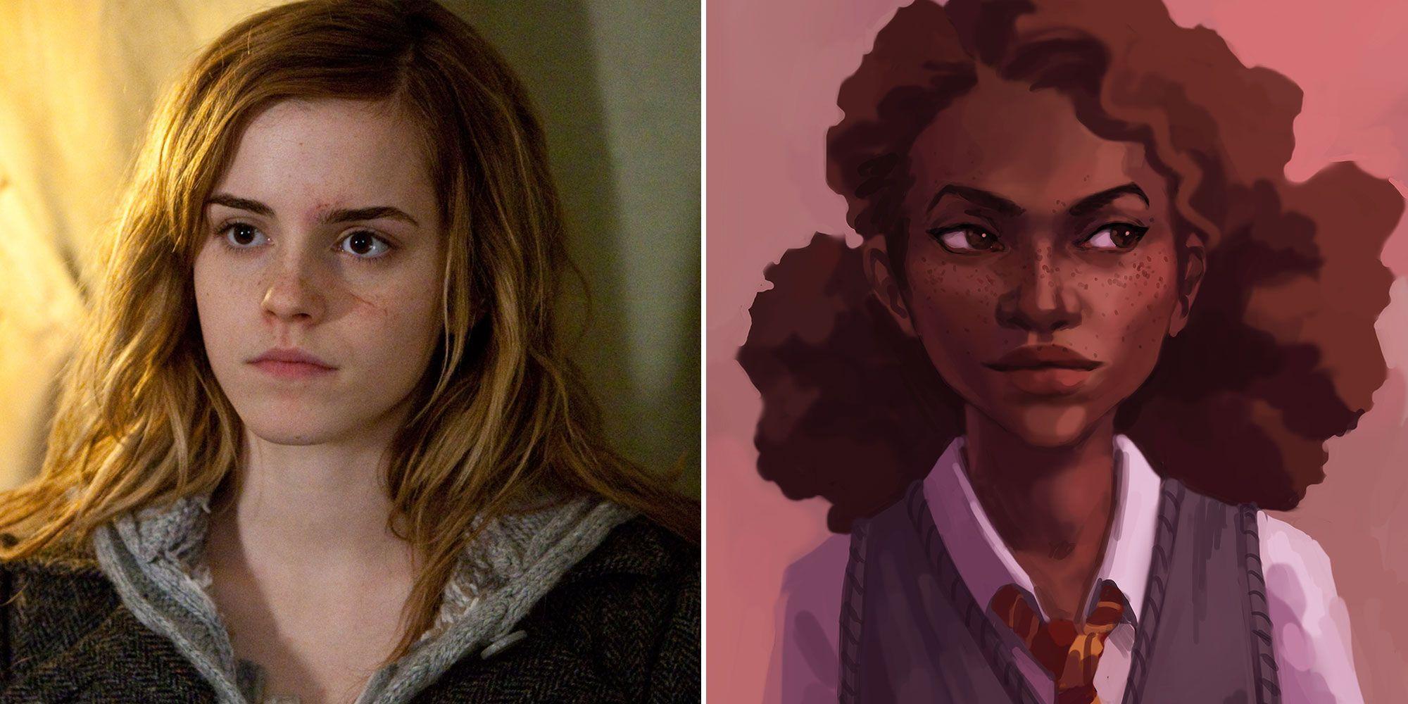 hermione eye color