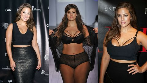 """Size-16 Model Ashley Graham on Her Body Positivity: """"Love It or Get Over It"""""""