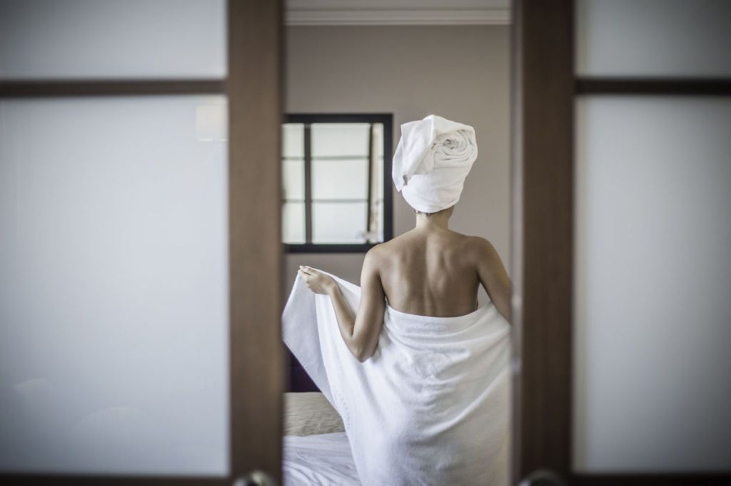Doing This One Thing When Getting Out of the Shower Every Day Will Make You Happier