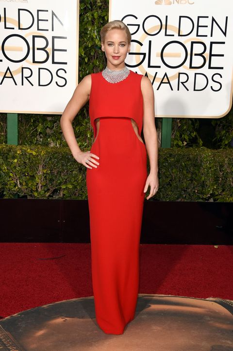 Shoulder, Dress, Red, Style, Formal wear, Flooring, Fashion model, Fashion, Beauty, Neck,