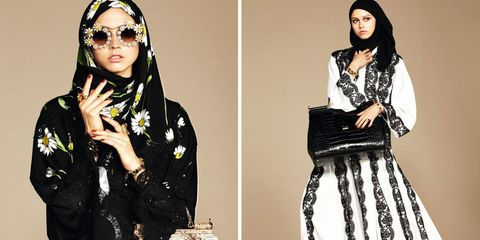 Dolce & Gabbana Debuts Its First-Ever Hijab Collection