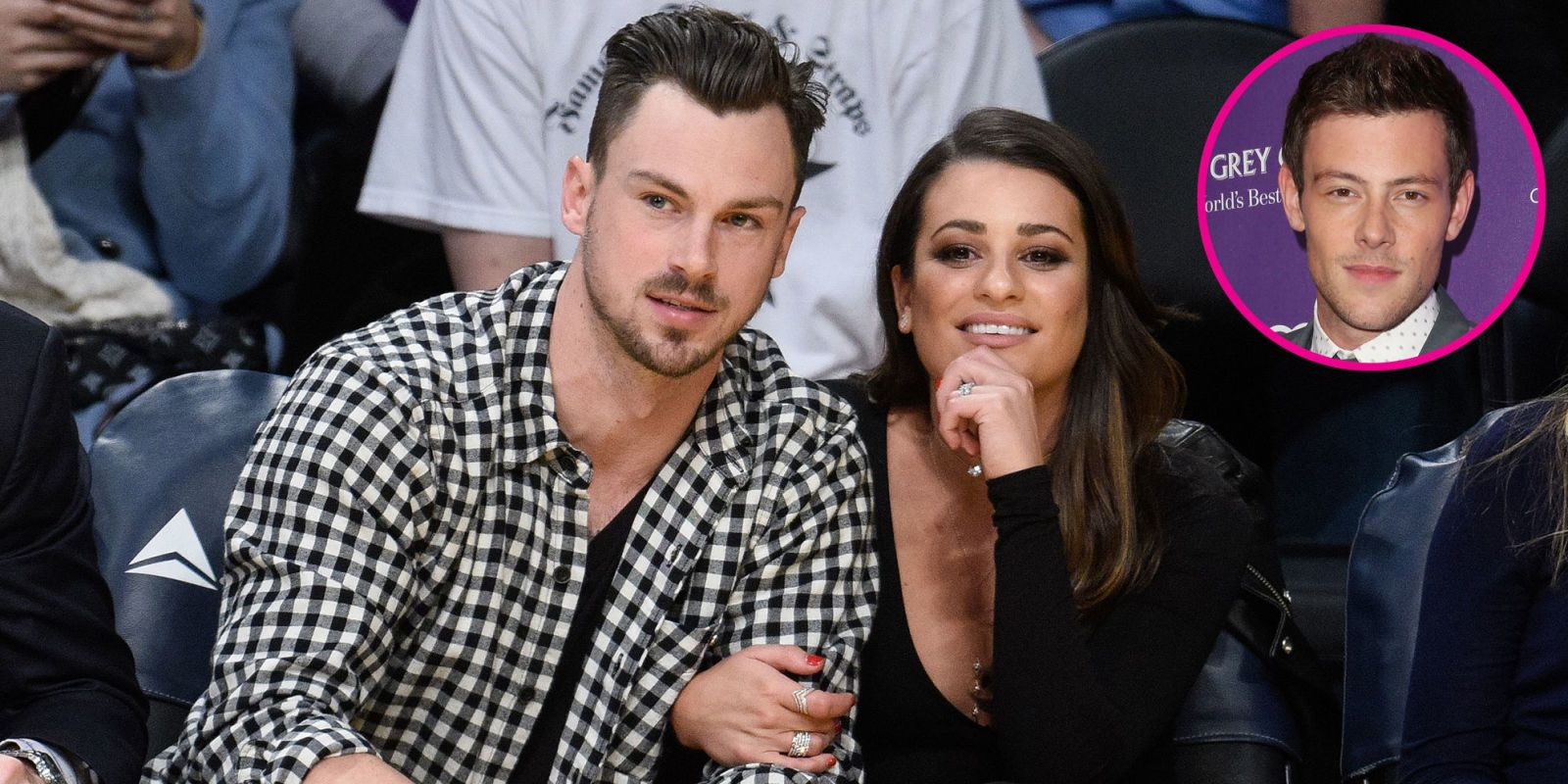 "Lea Michele Says Cory Monteith Would ""Love"" Her Boyfriend"
