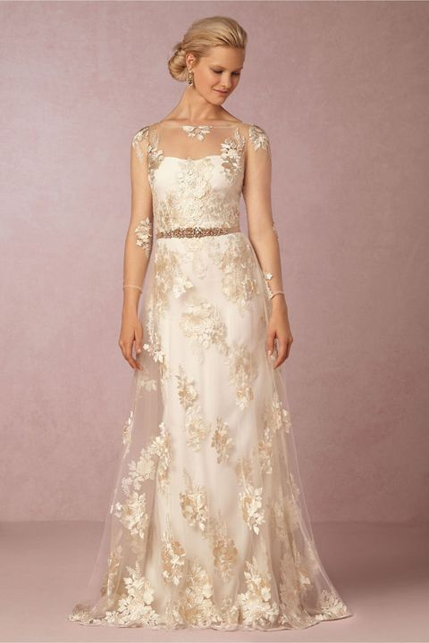 471d67df2de38 You Can Now Get a Marchesa Wedding Gown for Less Than $1,000