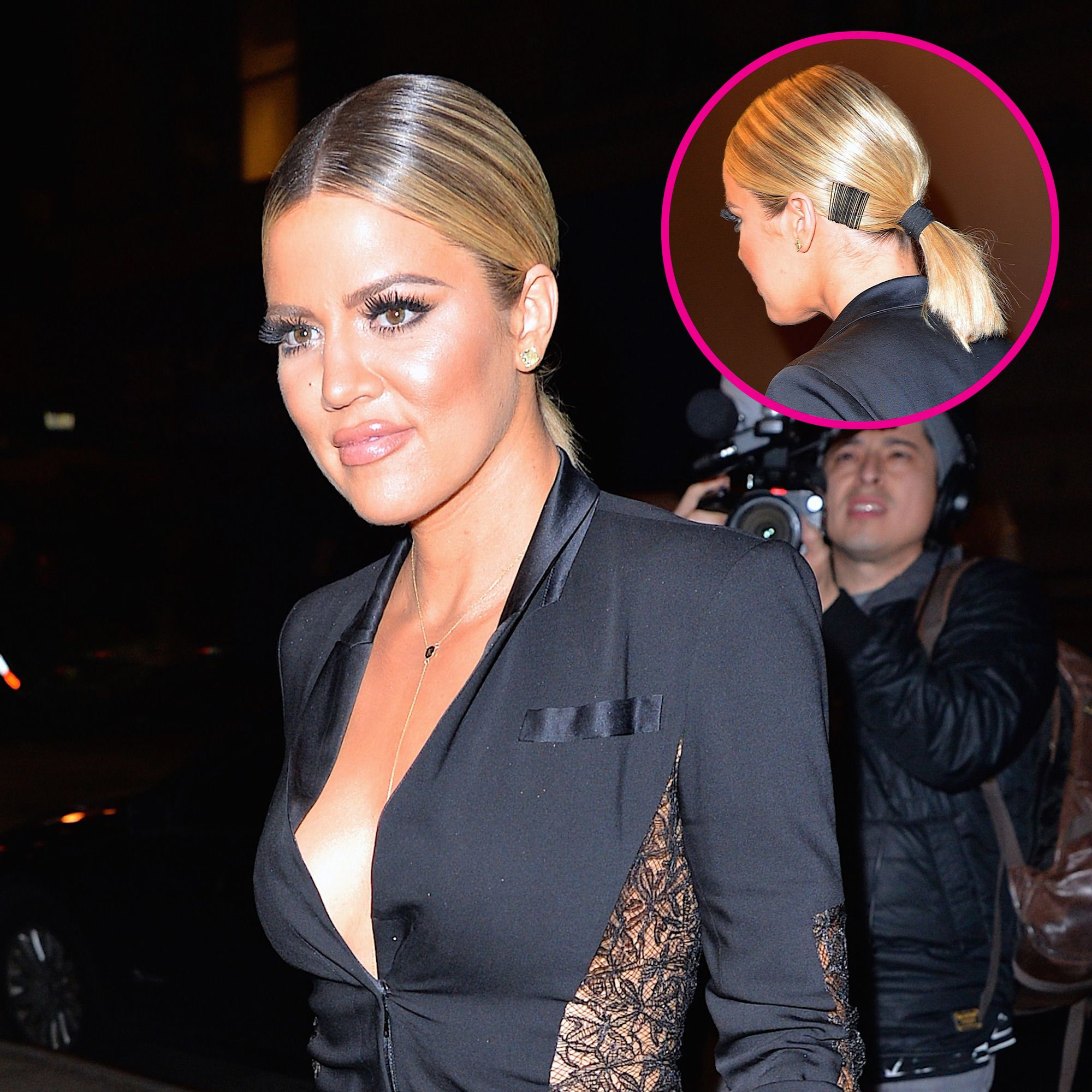 Khloe Kardashian Hairstyles Khloe Wore Bobby Pins In Her Hair