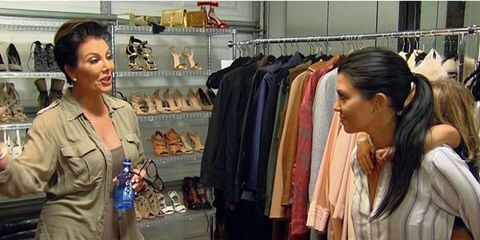 Clothing, Textile, Clothes hanger, Fashion, Retail, Service, Shelf, Boutique, Long hair, Closet,