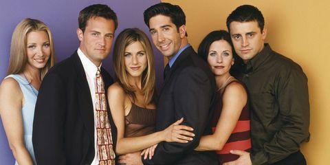 """""""Friends"""" Cast Photo"""