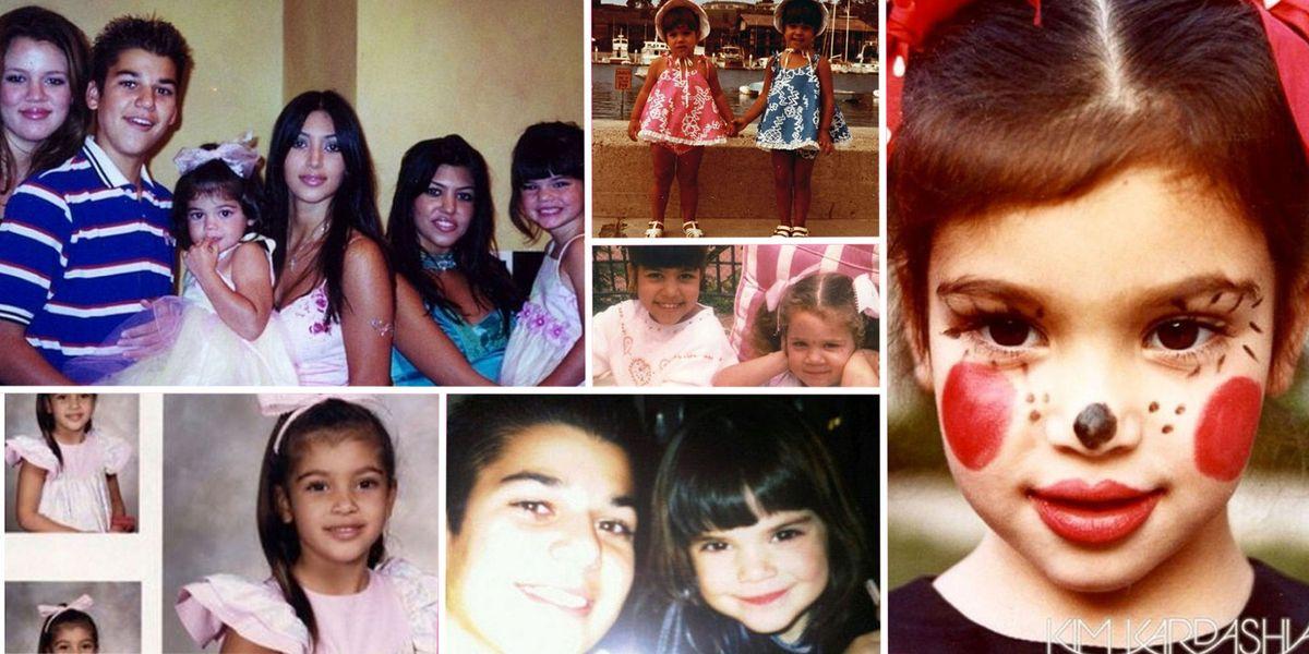 50 Unrecognizable Photos of the Kardashians