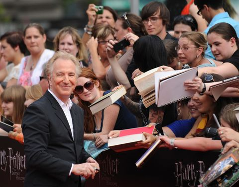 Alan Rickman's Moving Good-Bye Letter to Harry Potter Will Break Your Heart