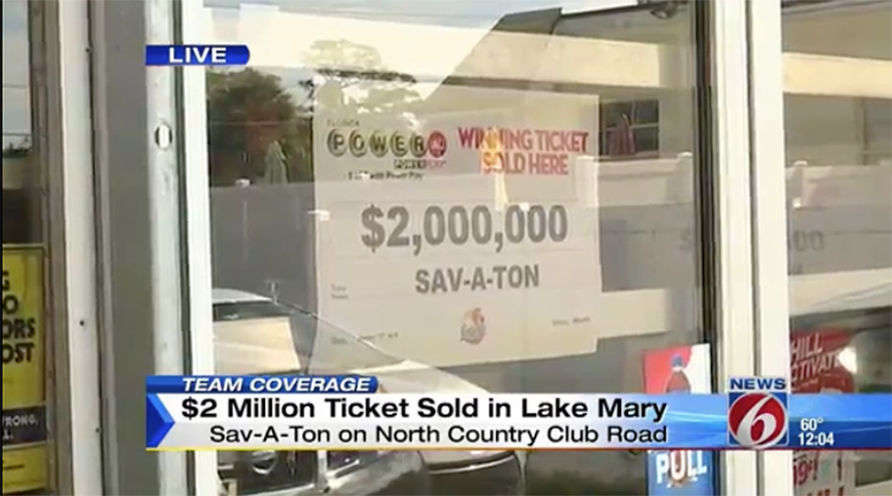 19-Year-Old Wins $2 Million With First-Ever Lottery Ticket