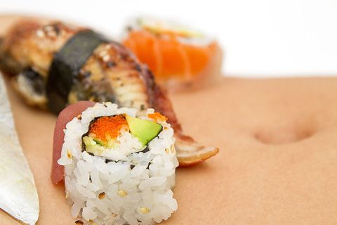 What It's Like to Be a Naked Sushi Model
