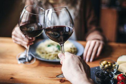 Stemware, Glass, Wine glass, Tableware, Barware, Drink, Food, Table, Dessert wine, Drinkware,