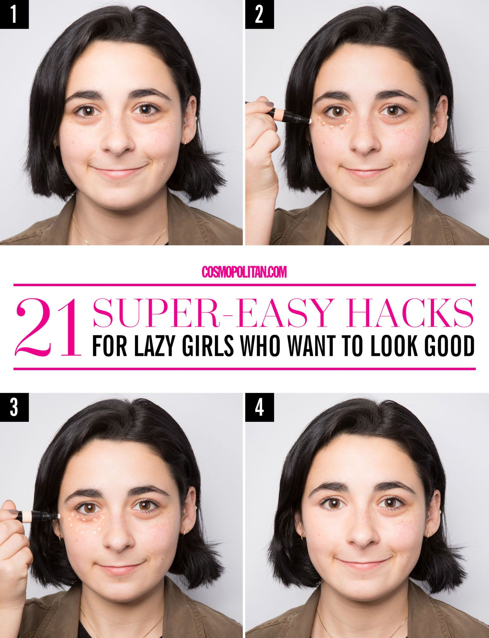 21 Super-Easy Lazy Girl Hacks for Looking Good