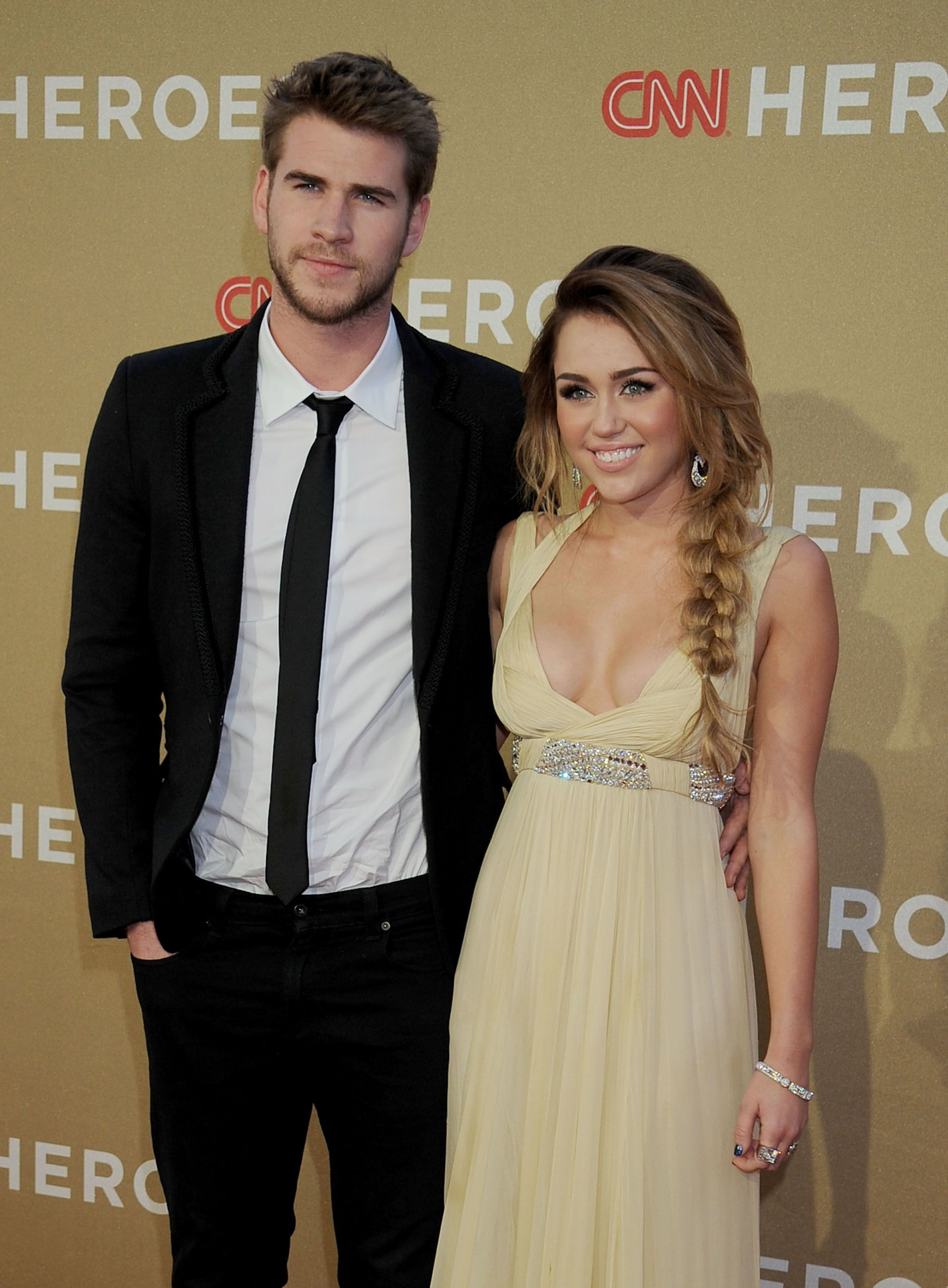 What happened with miley cyrus and liam