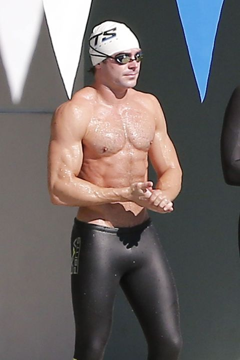 Goggles, Joint, Chest, Elbow, Sportswear, Swimmer, Muscle, Barechested, Trunk, Swim cap,